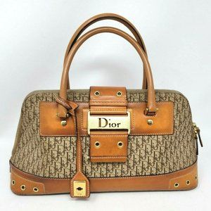 Auth Christian Dior Street Chic Columbus Tote